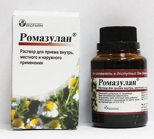 Кроме того, при приготовлении Ромазулана полностью выдержана рецептура приготовления настойки.