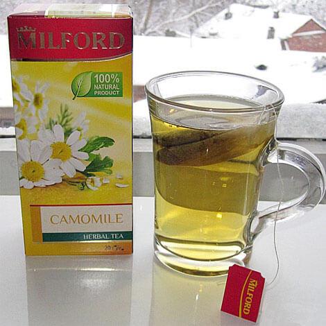 Опять же, типичный ромашковый чай под известной маркой.