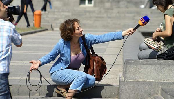 Журналистика - одна из профессий, работа при которой связана с постоянными стрессами.