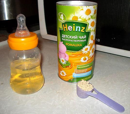 В большей степени такой чай - это средство для успокоения матери, чем для поддержки организма малыша.
