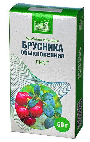 В продаже лист брусники представлен как сырьем на развес, так и в уже расфасованном виде.