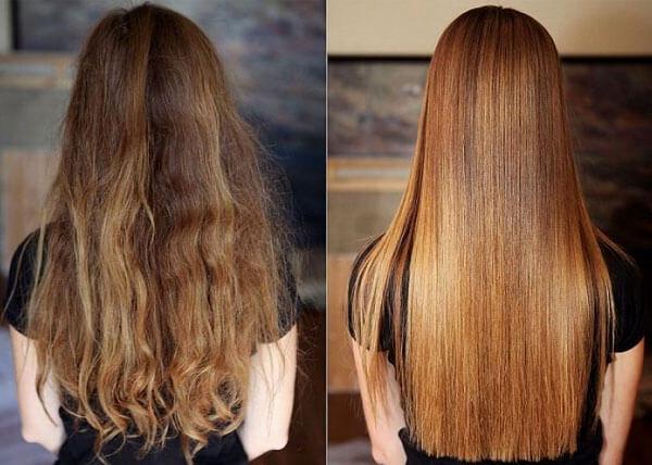 Очевидно, что структура волос становится не совсем естественной и потому длительно такой эффект не сохраняется.