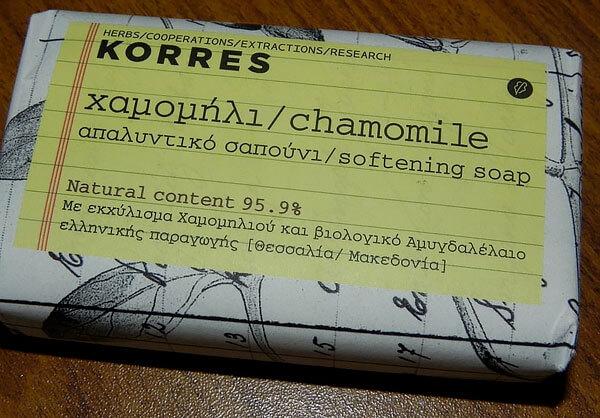 Korres гарантирует натуральность состава препарата на 94,5%.