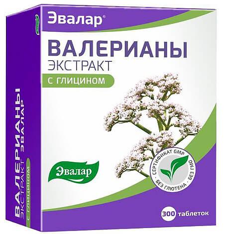 Комбинированный препарат с валерианой и глицином практически не отличается по свойствам от средства только с валерианой.