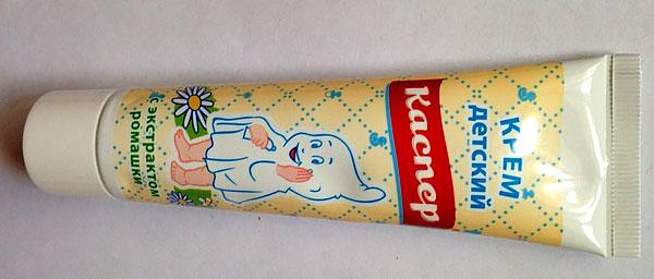 В основном Каспер применяется для обработки различных раздражений детской кожи.