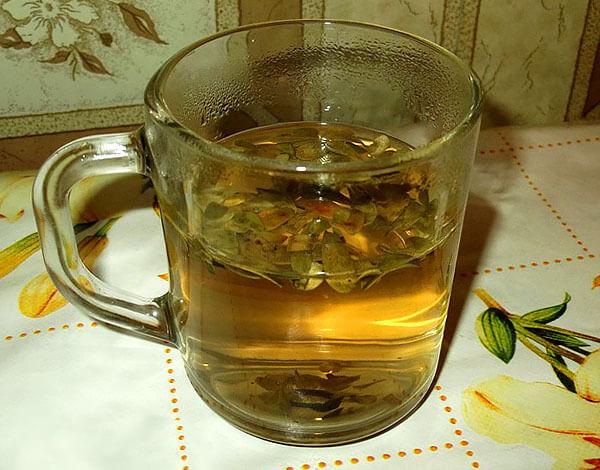 Клюквенные листья для приготовления чаев не используются.