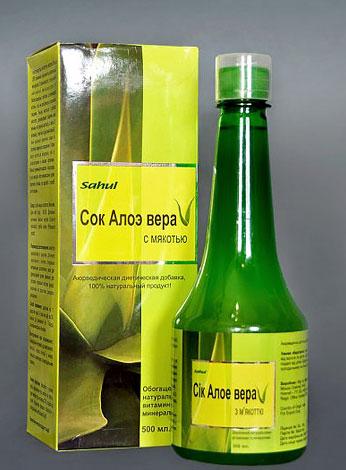 Сок с мякотью используют как диетическую добавку, но не как средство для закапывания в нос.